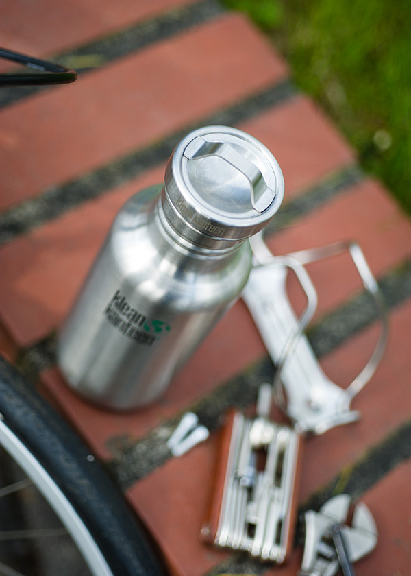 Стальная крышка Klean Kanteen All Stainless Loop Cap